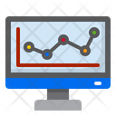 Graph Chart Analytics Icon