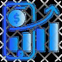 Phone Chart Finance Icon