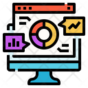 Data Analytics Website Analytics Icon