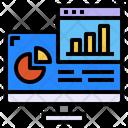 Computer Website Graph Icon