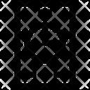 Analytics Digram Mobile Icon