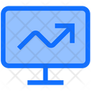 Business Finance Monitor Icon