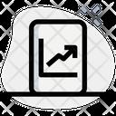 Online Analytics Online Analysis Analysis Growth Icon
