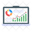 Data Growth Business Growth Data Analytics Icon