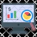 Data Analytics Online Analytics Statistics Icon