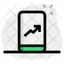 Online Analytics Chart Growth Chart Online Graph Icon