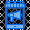 Mobile Shop Screen Icon