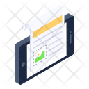 Digital Media Online Content Mobile Content Icon