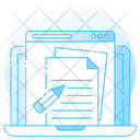 Online Assignment Icon