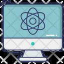 Online Atom Icon