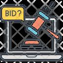 Online Auction Icon