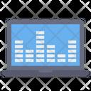 Online Audio Setting Online Equalizer Online Sound Adjuster Icon