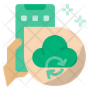 Cloud Storage Cloud Sync Icon