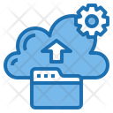 Backup Cloud System Online Icon