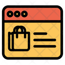 Online Bag Icon