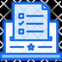 Online ballot Icon