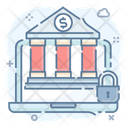 Online Security Online Bank Security Cyber Security Icon
