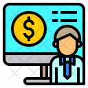 Online Bank Statement Online Banking Bank Statement Icon
