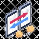 Money Transfer Mobile Transfer Send Mobile Money Icon