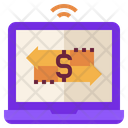 Banking Online Transfer Icon