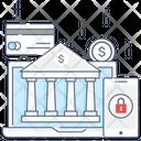 Online Banking Digital Finance Online Finance Icon