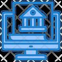 Online Banking Money Shopping Icon