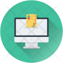 Online Banking Monitor Icon