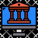 Monitor Banking Finance Icon