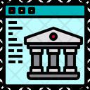 Web Banking Finance Icon