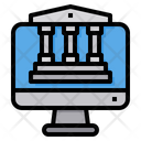 Banking Computer Bank Icon