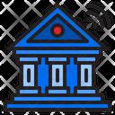 Online Banking Bank Money Icon