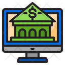 Online Banking Bank Payment Icon