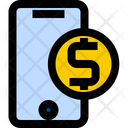 Online Banking Mobile Banking Money Transfer Icon