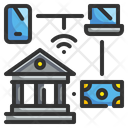 Online Banking Banking Finance Icon