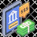 Digital Banking Online Banking E Banking Icon
