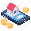 Banking App Digital Payment Mobile App Icon