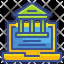 Online Banking Banking Laptop Icon