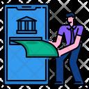 Online Banking Finance Money Icon