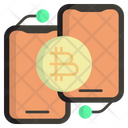 Online Banking Online Payment Bitcoin Icon