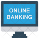 Online Banking Lcd Icon