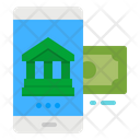 Banking Online Payment Bank Phone Icon
