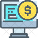 Financial Online Banking Icon