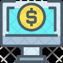 Online Banking Cash Icon
