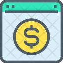 Online Banking Webpage Icon