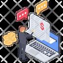 Online Banking Website Icon