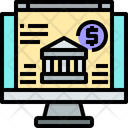 Online Bankking Icon