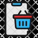 Online Basket Icon