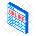 Online Game Monitoring Icon