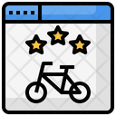 Bicycle Sports Exercise Icon