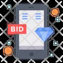 Online Bid Online Bid Icon